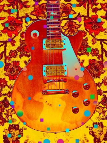 Poster Guittar Barry Shereshevsky Art Poster.