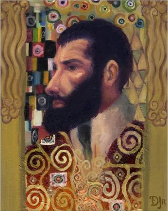 Gustav Klimt armyangel