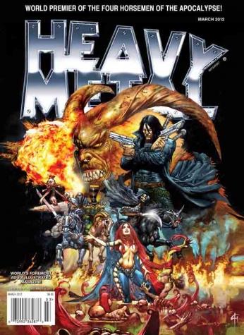 Heavy Metal Março 2012