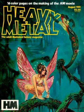Heavy Metal Agosto-1981