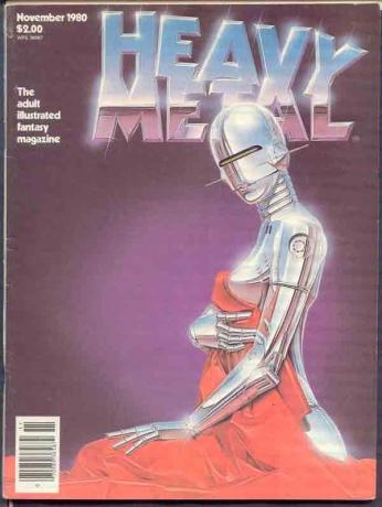 Heavy Metal Novembro -1980