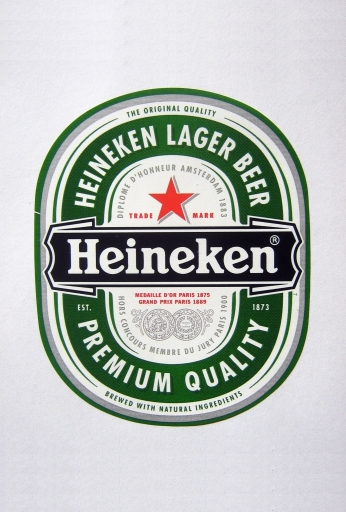 Heineken Label White