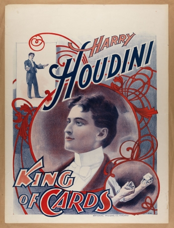 Houdini King of Cards Poster 2