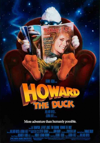 Filme: Howard The Duck (Howard, O Super-Herói, 1986).