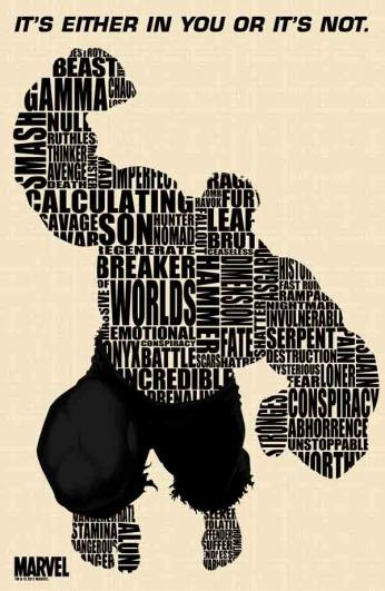 Hulk - Typographic