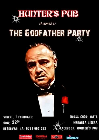 Hunter's Pub - The Godfather Party