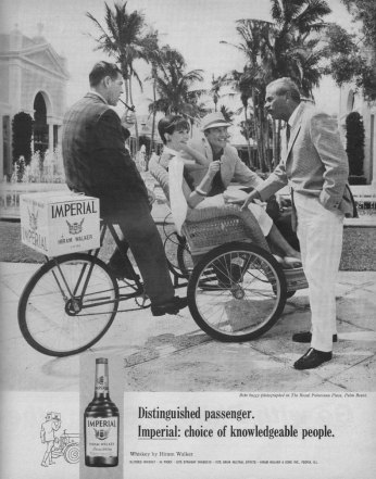 Poster Imperial Whiskey, April 1966.