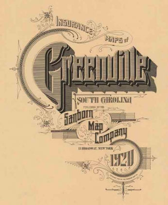Insurance Maps of Greenville (1920)