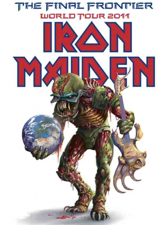 Iron Maiden - The Final Frontier World Tour - 2011