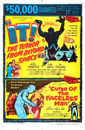 Filme: It! The Terror form Beyond Space (A Ameaça do Outro Mundo, 1958).