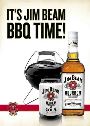 It's Jim Beam BBQ Time
