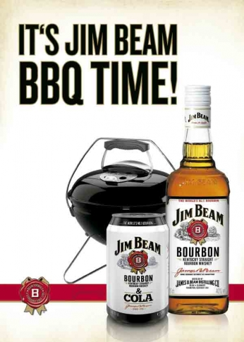 It's Jim Beam BBQ Time