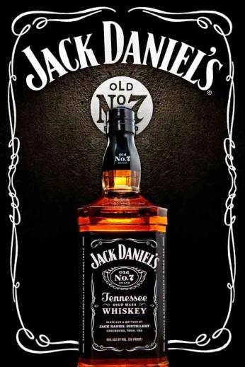 Jack Daniel's - Rusty Poster
