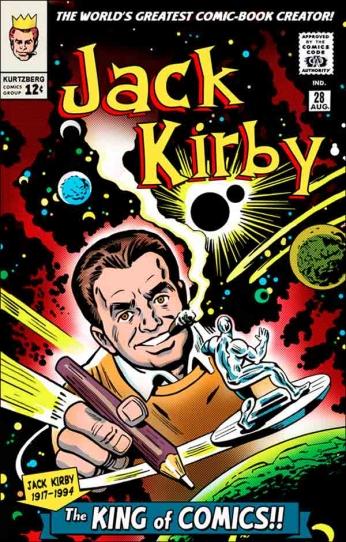 Jack Kirby the King of Comics