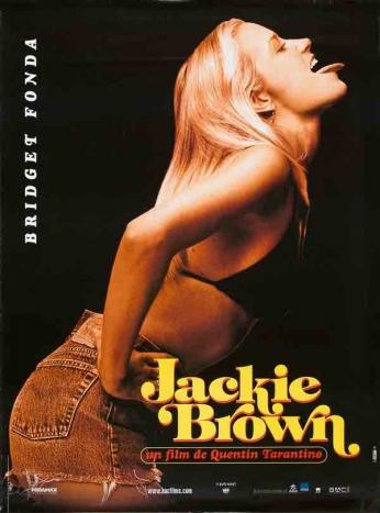 Jackie Brown - Bridget Fonda - Teaser Poster