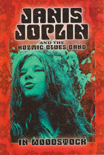 Janis Joplin and the Kosmic Blues Band In Woodstock