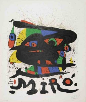Joan Miró - Exhibition