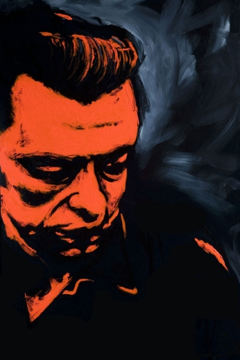 Johnny Cash - Painted