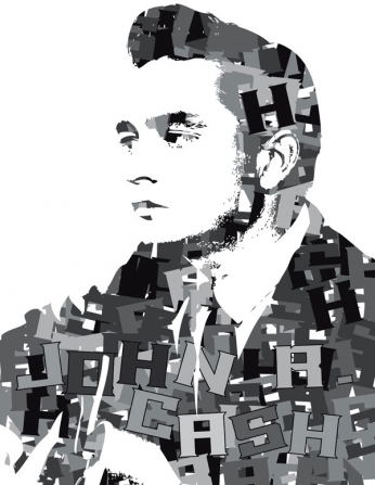 Johnny Cash - Typography