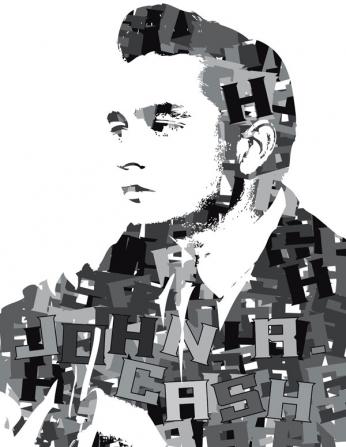 Johnny Cash - Typography