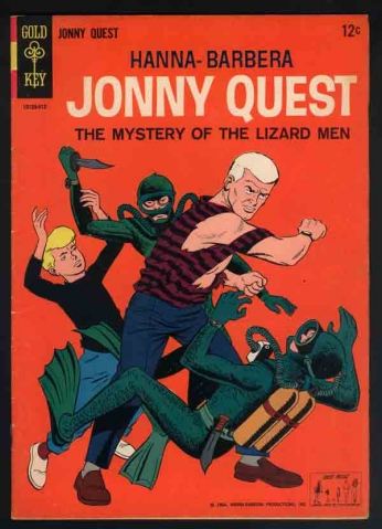 Jonny Quest - The Mystery of the Lizard Men
