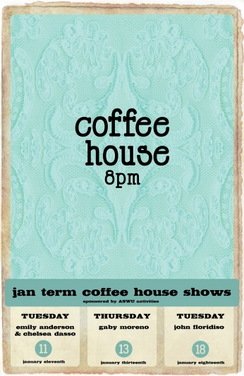 Jterm Shows Coffee House 8pm