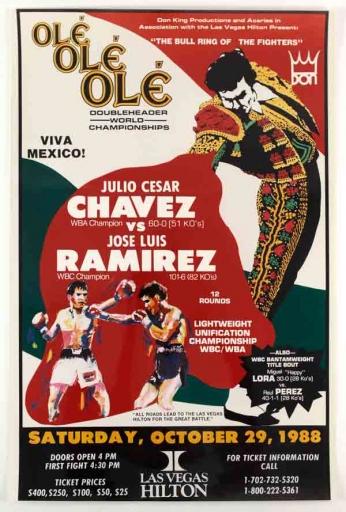 Julio Cesar Chavez VS Jose Luis Ramirez