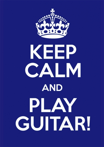 Keep Calm and Play Guitar - 02