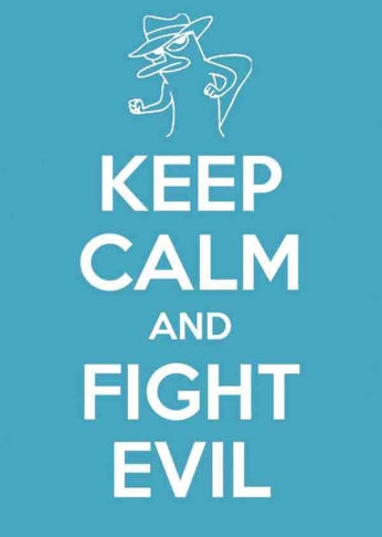 Keep Calm and Fight Evil