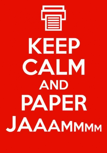 Keep Calm and Paper JAMMM