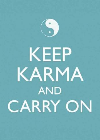 Keep Karma and Carry On