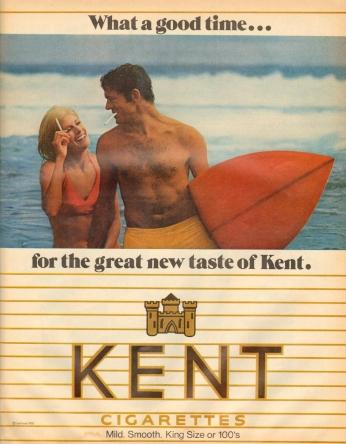 Poster Kent Cigarettes, July 1970.