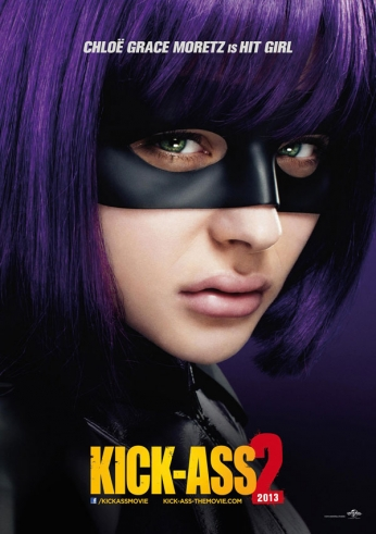 Kick-Ass 2 - Teaser Poster - Hit Girl