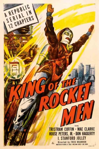 Filme: King of the Rocket Men (O Homem Foguete, 1949).