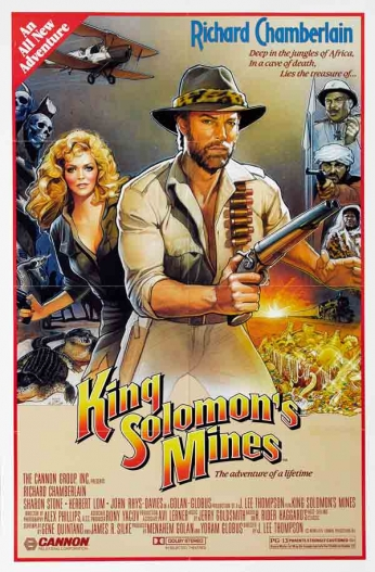 Filme: King Solomon's Mines (Allan Quatermain e As Minas do Rei Salomão, 1985).