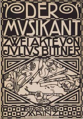 Kolo Moser - Der Musikant - 1909