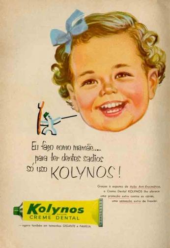 Kolynos Creme Dental - Ação Anti-Enzimática