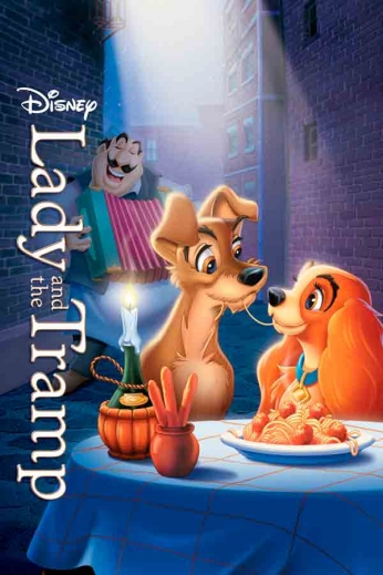 Lady and the Tramp - Art Poster