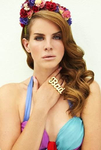 Poster Lana Del Rey Bad.
