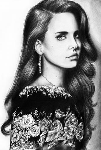 Lana Del Rey by Katrint Kachuk 2