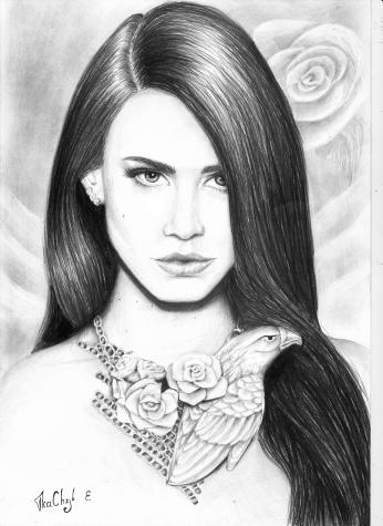 Lana Del Rey by Katrint Kachuk 3