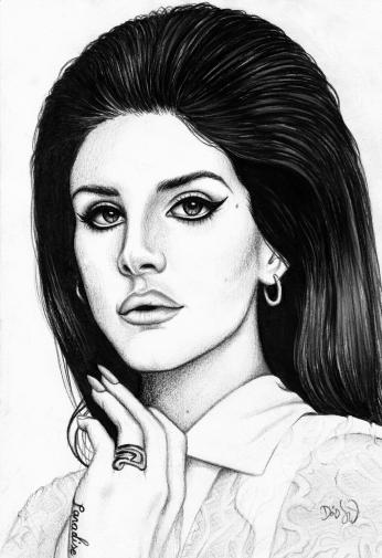 Lana Del Rey Paint 2