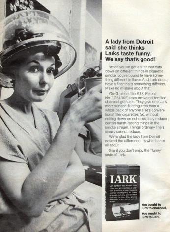 Poster Lark, July 1968.