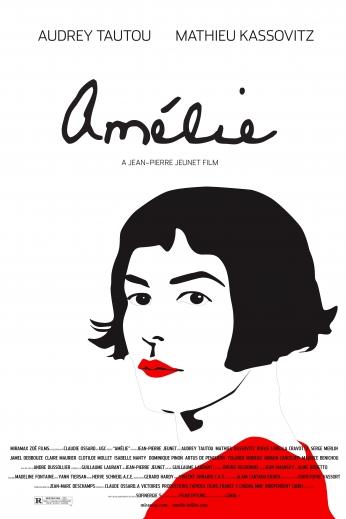 Le Fabuleux Destin d'Amélie Poulain Audrey Tautou Movie Poster.