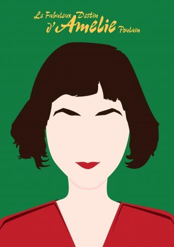 Le Fabuleux Destin d'Amélie Poulain Minimalista.
