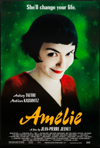 Le Fabuleux Destin d'Amélie Poulain Movie Poster.