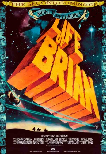 Filme: Life of Brian (A Vida de Brian, 1979).