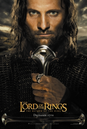Poster Lord of the Rings - Poster Aragorn.