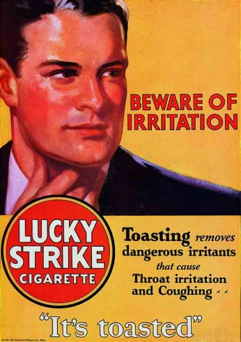 Lucky Strike - Beware of Irritation