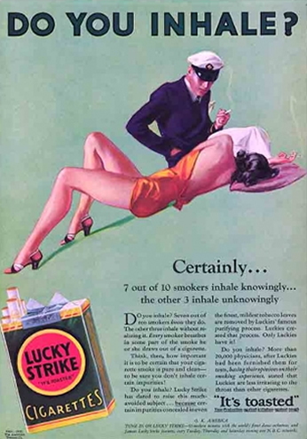 Lucky Strike - Do You Inhale? - 1932